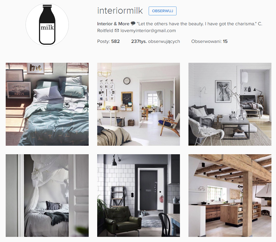 Interior milk