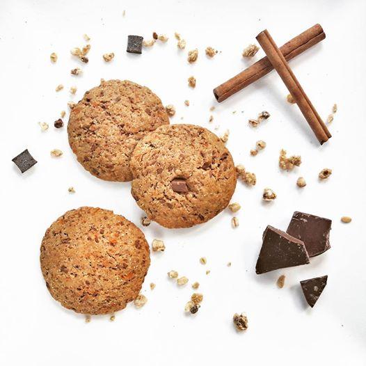 ciasteczka dyniowe z czekolada