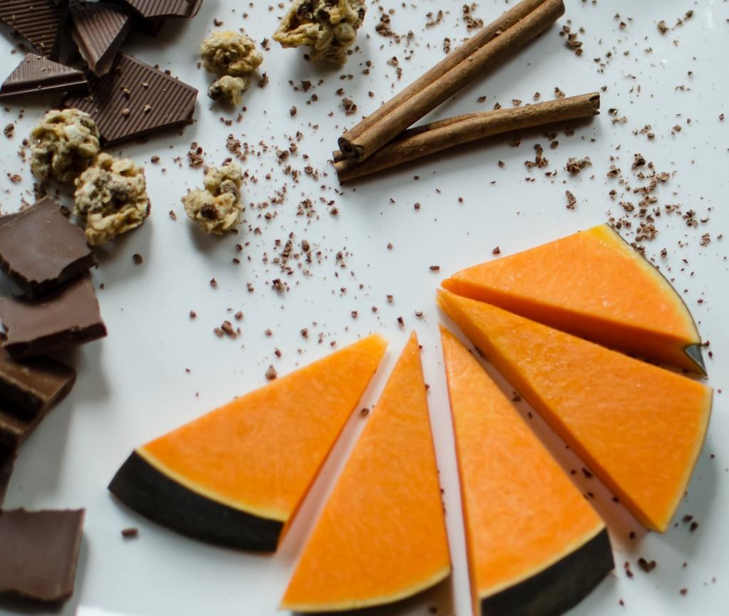 dynia i czekolada