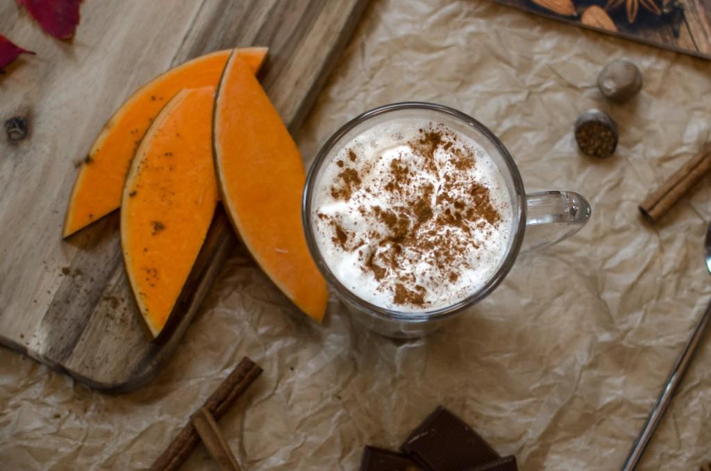 Dyniowa latte 2