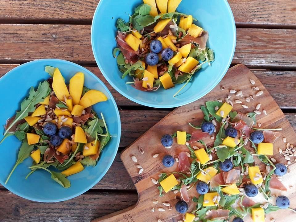 salatka z mango w 5 minut