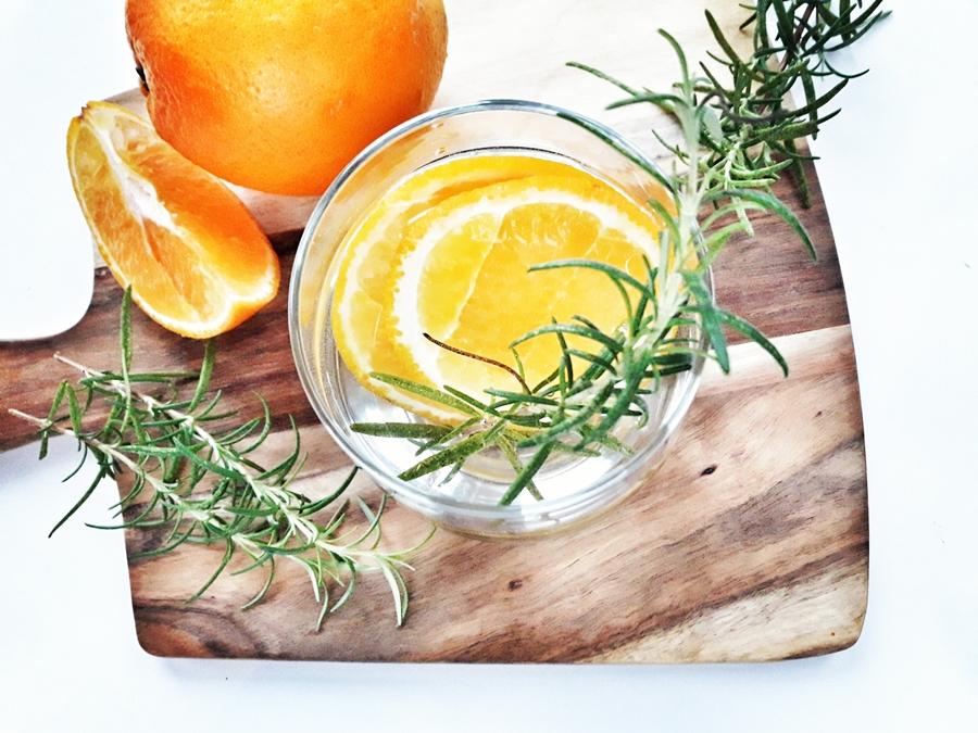 woda smakowa pomarancza rozmaryn