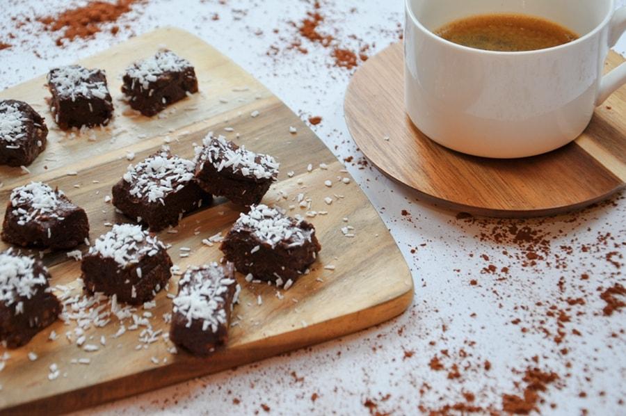zdrowy przysmak bez pieczenia do kawy