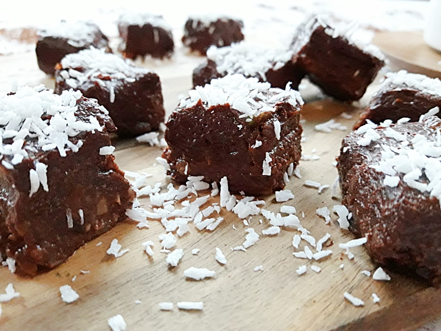 zdrowy przysmak bez pieczenia z kakao
