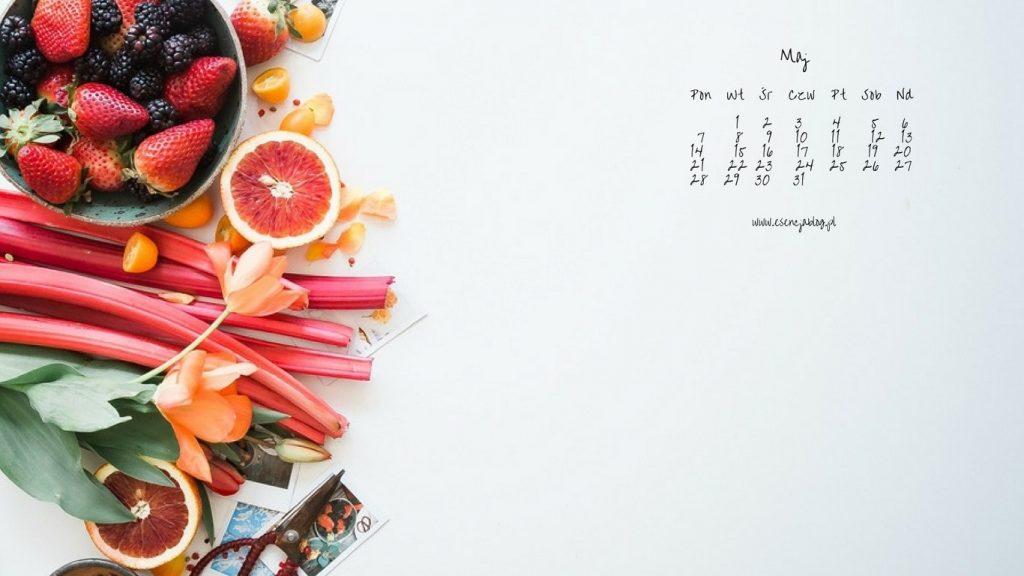 tapety z kalendarzem maj laptop 4