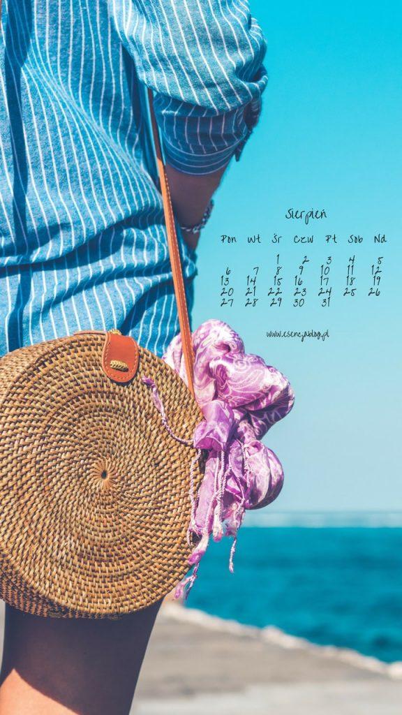 tapety z kalendarzem sierpien 2018 1g