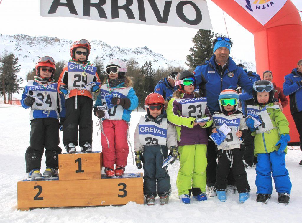 Szkolka narciarska zawody