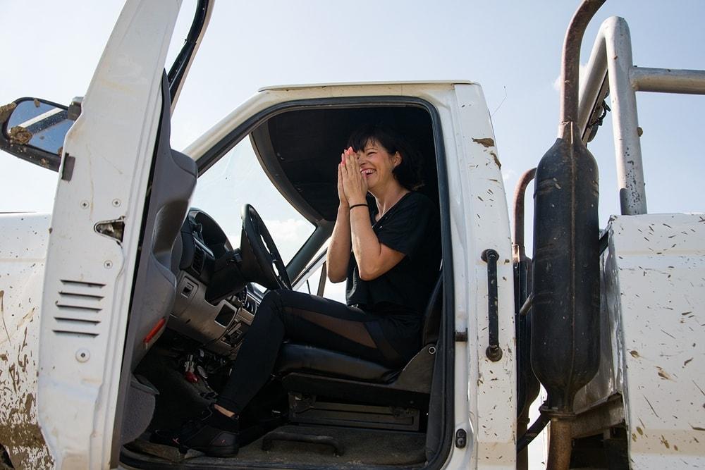 monster truck chce toprzezyc