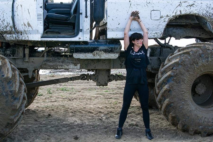monster truck wyzwanie
