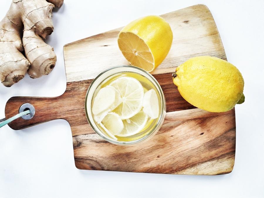woda smakowa imbir cytryna
