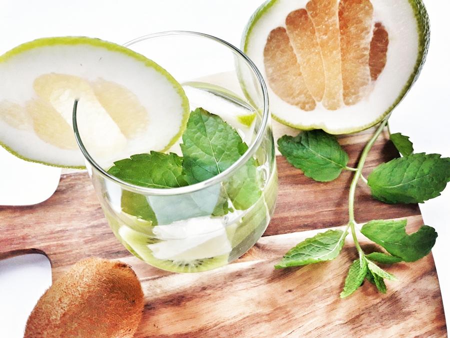 woda smakowa zielony grejpfrut kiwi