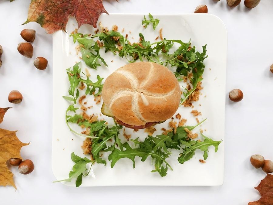 Burger zciecierzycy ibatata zdrowe burgery domowe