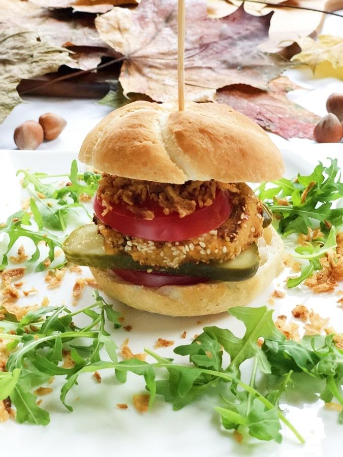 Burger zciecierzycy ibatata zdrowe burgery domowej roboty