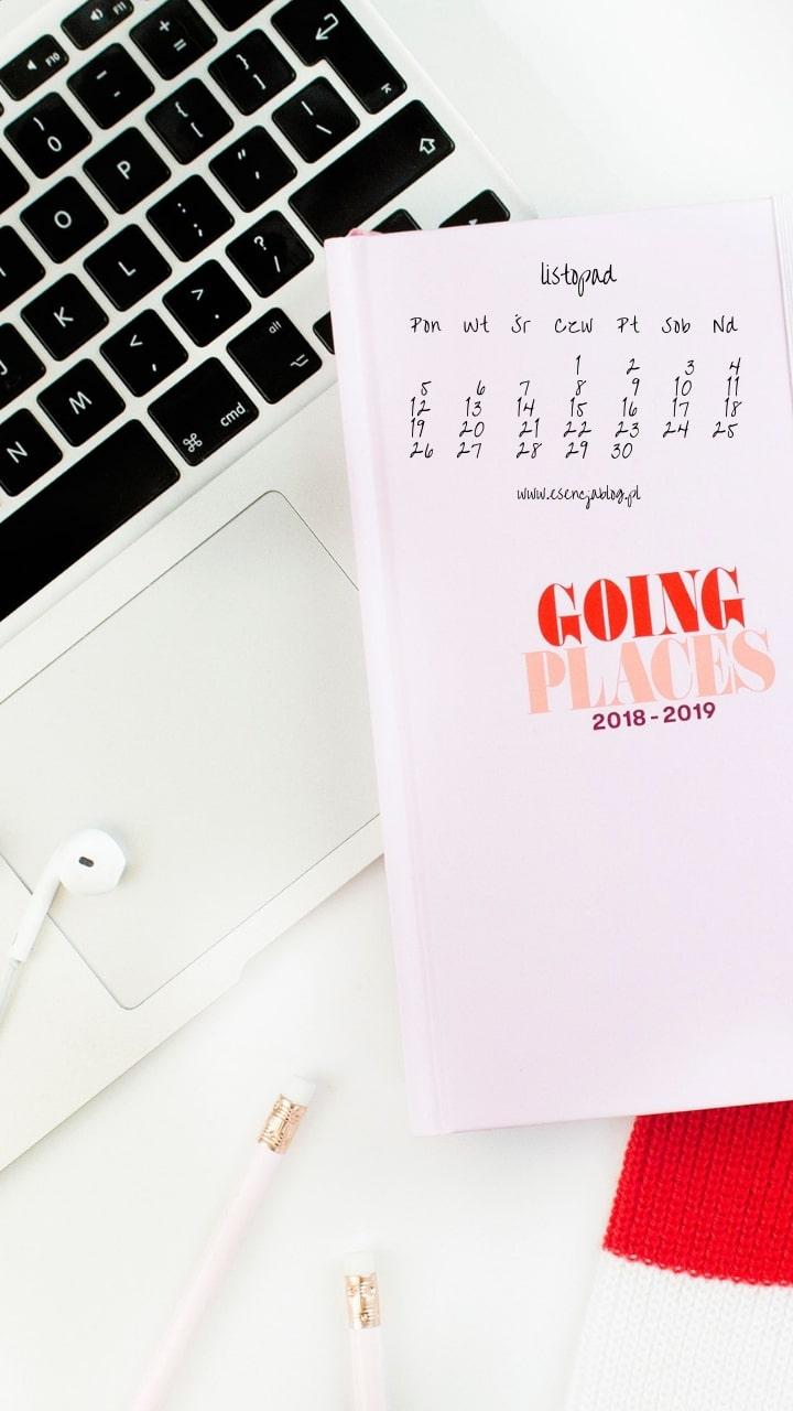 tapety zkalendarzem listopad 2018 komorka 3