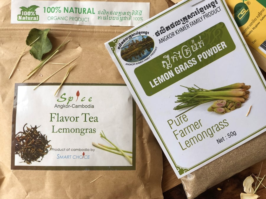 trawa cytrynowa herbata przyprawa