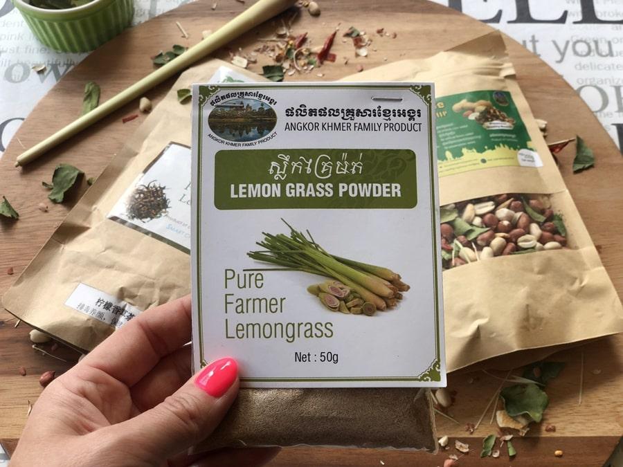 trawa cytrynowa przyprawa