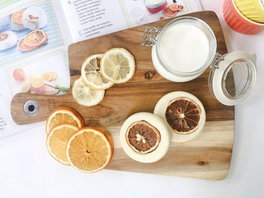 przepisy nakosmetyki domowej roboty esencjonalne cytrusowe mydełka 1