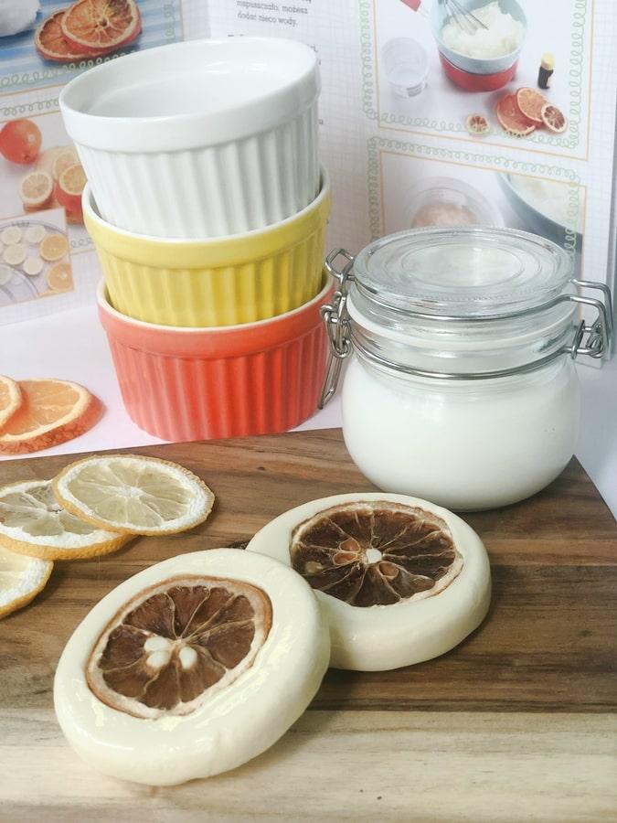 przepisy nakosmetyki domowej roboty esencjonalne cytrusowe mydełka 3