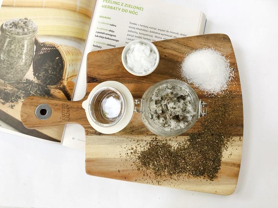 przepisy nakosmetyki domowej roboty peeling donog zzielonej herbaty 3