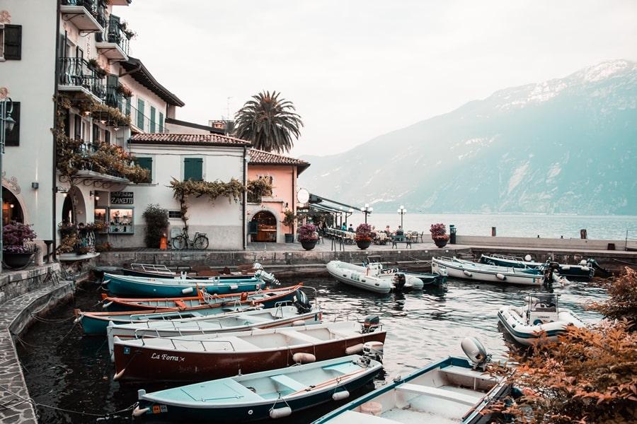 Spelniam swoje marzenie jezioro Garda