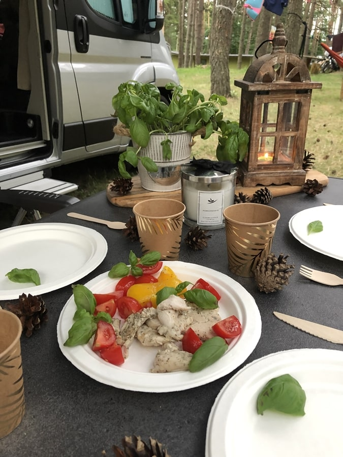 dania które możesz zrobić wkamperze grill