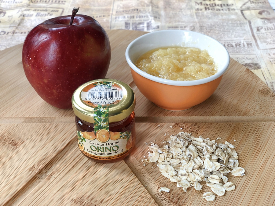 Kosmetyki zdomowego zacisza maseczka jablkowa dotwarzy